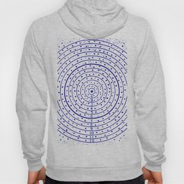 The Circling the Sun Blues Hoody