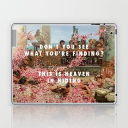 Lawrence Alma-Tadema, The Roses of Heliogabalus (1888) / Halsey, Heaven in Hiding (2017) Laptop & iPad Skin