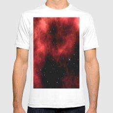 Nebula III Mens Fitted Tee MEDIUM White