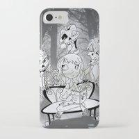 zombies iPhone & iPod Cases featuring Zombies  by Alejandra Ochoa