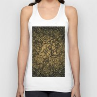 damask Tank Tops featuring Decorative damask by nicky2342
