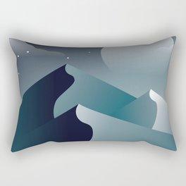 Calm Desert Evening Rectangular Pillow