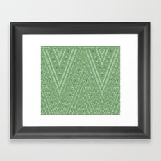 Gorgonize (in green snakeskin) Framed Art Print