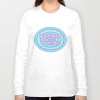 daria Long Sleeve T-shirts featuring Sick Sad World Daria Favorite Documentary in Pastel by Wondering Lolita by Naeema Krishna