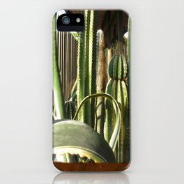 Cactus Garden Blank P3F0 iPhone Case