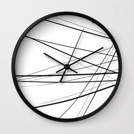 Urban Abstract III Wall Clock