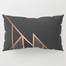 Black & Gold 035 Pillow Sham
