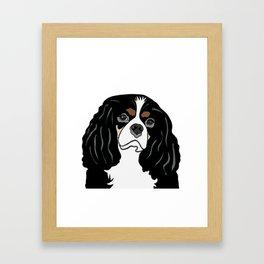 Daisy the Cavalier King Charles Spaniel Framed Art Print