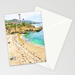 Laguna Beach Coast Stationery Cards