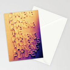 Changing Stationery Cards