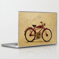 ducati Laptop & iPad Skins featuring Ducati 1950 - Classic bike by Larsson Stevensem