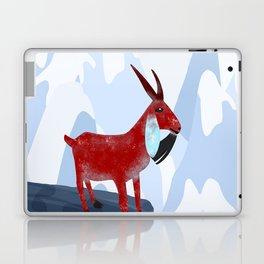 Mountain Goat Design Laptop & iPad Skin