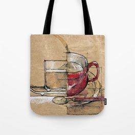 Red Mug Tote Bag
