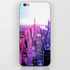 New York City : Pastel  iPhone & iPod Skin