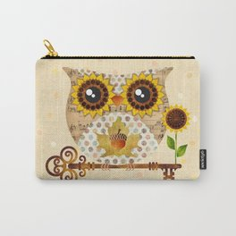 Owl's Autumn Song Carry-All Pouch