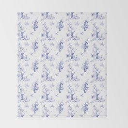 Ravenclaw Toile Throw Blanket