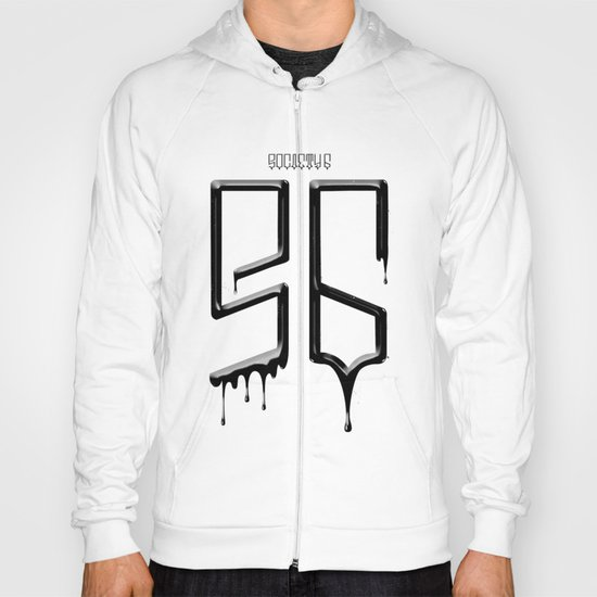 S6 TEE BLACK PAINT Hoody