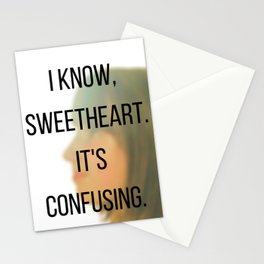 I know, Sweetheart. Stationery Cards