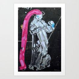 Meditation. 2013. Art Print