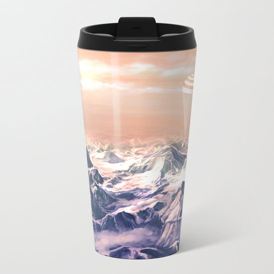 Astronaut Returns II Metal Travel Mug
