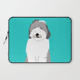 Lucy The Sheepadoodle Laptop Sleeve