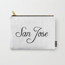 San Jose Carry-All Pouch
