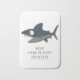 Keep our planet healthy #1 Bath Mat