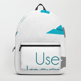 Use your imagination Backpack