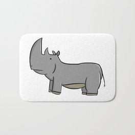 White Rhino Bath Mat
