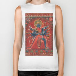 Hindu God Sexual Biker Tank