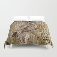 camouflage Duvet Covers featuring Camouflage by thee_owl_queen