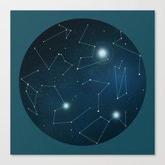 Hemisphere 1 Canvas Print
