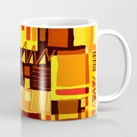 african Mugs featuring African feel by clemm