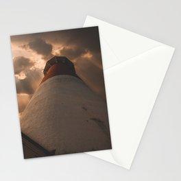 Luminous Lighthouse on Long Beach Island Stationery Cards