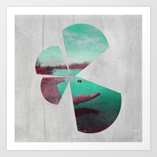 Bank Art Print