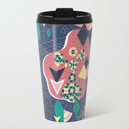 Abstract Fragmentation Travel Mug