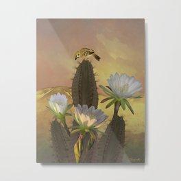 Night Blooming Cereus Metal Print