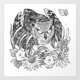 Nightblooms Art Print