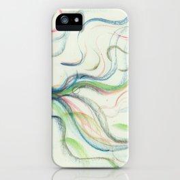 Bird waterfall fun iPhone Case