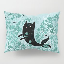 Undersea (Mint Remix) Pillow Sham