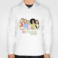 spice girls Hoodies featuring spice girls by SWEET2OOF
