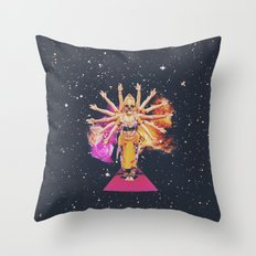 Visions v01 Throw Pillow