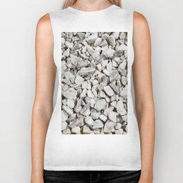 Stone Marble Chips Biker Tank