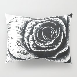 Rose with Dew Pillow Sham