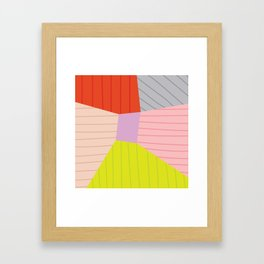 Blok Framed Art Print