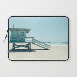 Hermosa Beach Lifeguard Tower 19 Laptop Sleeve