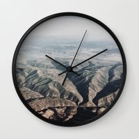 rocky Wall Clocks featuring Rocky by Ryo Ruiz