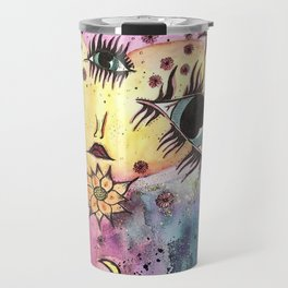 Goddess of Galaxies Travel Mug