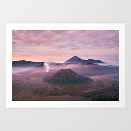 Mount Bromo Art Print