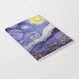 Vincent Van Gogh Starry Night Notebook